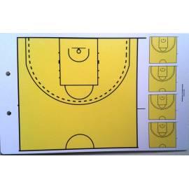 Plaquette tactique coach basket